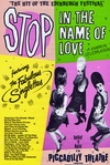 "The Fabulous Singlettes appearing at Piccadilly Theatre London, ""STOP IN THE NAME OF LOVE"""